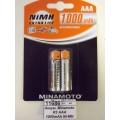 Аккумулятор  Minamoto R3 AAA 1000mAh Ni-MH BP-2 *2/72