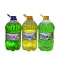 РУНО средство для мытья посуды Яблоко, ПЭТ бутылка 5л *2