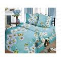 Комплект постельного белья 1.5 спальное 215*150 бязь набивная, плотность 125 Вдохновение