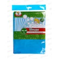 Штора в ванну полиэтиленовая 180*180 Лебеди  6984*40