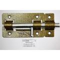 Задвижка дверная ЗД-01 полимер бронза *20
