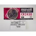 MAXELL CR-2450  *5/50