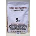 Клей для плитки Универсальный Святозар 5 килограмм  *6