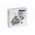 Салфетка 1слойная Veiro LiniaR бабочки  *90  /24Р1/50А