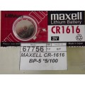 MAXELL CR-1616 BP-5 *5/100