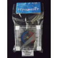 Термометр оконный биметаллический ТББ квадратный, в пакетике *100