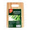 Доска разделочная  бамбук 16*24 LaDina 100302-1 *60