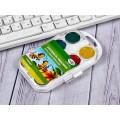 Акварель ГАММА Пчелка 16 цветов  пластиковая упаковка, без кисти, 212042 *36