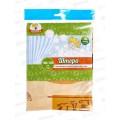 Штора в ванну полиэтиленовая 180*180 Египет  *40