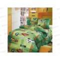 Комплект постельного белья 1.5 спальный 215*150 бязь набивная ,плотность 125 Авторалли