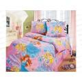 Комплект постельного белья 1.5 спальное 215*150 бязь набивная, плотность 125 Принцесса