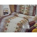Комплект постельного белья 1.5 спальное 215*150 бязь набивная, плотность 125 Денди