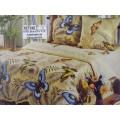 Комплект постельного белья  2спальное 215*175 европростынь бязь, плотность 125 Эйфория