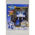 POLI, трансформер Поли 83094 (12,5см) свет+инструменты