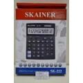 Калькулятор SKAINER SK-222 12 разрядный , бухгалтерский , настольный , металлический