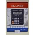 Калькулятор SKAINER SK-444L 12 разрядный, бухгалтерский, настольный *10/40