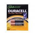 DURACELL Simply AAА 1.5V LR3 отрывной набор 2шт  *6/84