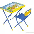 Комплект Никки КПУ1 (стол+стул пластмассовый) КПУ1