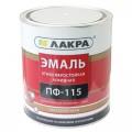 ЭМАЛЬ ЛАКРА ПФ-115 Черная 2,8кг *6 СРОК ДО 05.21