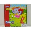 Гуашь ГУЛИНАН 16цветов картонная коробка 25мл Веселые зверята, 216 *12