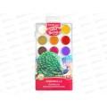 Акварель EK Artberry 18 цветов  пластиковая упаковка, защита яркости, 41725 *7/42