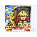 POLI, трансформер Рой 83314 (10см)+ костюм супер пожарного
