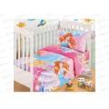 Комплект постельного белья детский бязь Принцессы 150*100