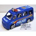 Автобус инерц. полиции малый в пак. 100766121/818
