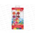 Акварель EK Artberry 12 цветов, пластиковая упаковка, с кистью, палитра, 41726 *7/42