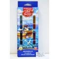 Акварель EK Artberry Премиум 12 цветов  пластиковая упаковка, защита яркости, 41735 *6/48