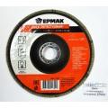 Диск лепестковый торцевой ЕРМАК 22*150 р120  г 645-139