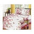 Комплект постельного белья 2 спальное 215*175 европростынь бязь, плотность 125 Сакура