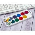 Акварель MAZARI медовая  Animals Park 12 цветов , без кисти, пластиковая упаковка М-2051*30