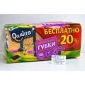 QUALITA Губки кухонные Extra Strong 5+1шт  *40  ПРОМО