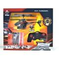Вертолет на радио управлении металлический 17см V398 Стреляет+USB *9   гб