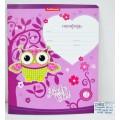 Тетрадь 12 листов клетка ПОЛИ Lucky Owl, 42557 *10/280