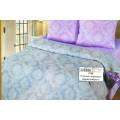 Комплект постельного белья 2спальное Поплин-жаккард Александрит европростынь на резинке