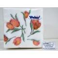 Салфетка 1слойная Veiro LiniaR Розовый цветок *45  /24Р1/100