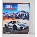 Тетрадь 12 листов линия ФЕН Авто и горы, офисная, выборочный УльтраФиолет, 34148 *50
