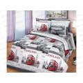 Комплект постельного белья 2 спальное 215*175 бязь набивная, плотность 125 Лондон