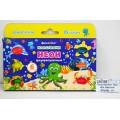 Пластилин  6 цветов  90 грамм Darvish флуоресцентная, со стеком, DV-5749-6 *1/40