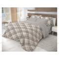 Комплект постельного белья 1,5 спальное Ранфорс ВН 21067+8320/4 40