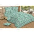 Комплект постельного белья 1,5 спальное Бязь 120гр НН Каракум (зеленый)