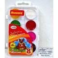 Акварель ГАММА Мультики New 8 цветов  пластиковая упаковка, без кисти, 211046_8 *36