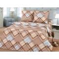 Комплект постельного белья 2 спальное 215*175 бязь набивная, плотность 125 Пауль