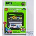Автобус инерционный 2шт CityBus в коробке 36456  *50