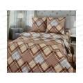 Комплект постельного белья 1.5спальный 215*150 бязь набивная ,плотность 125 Пауль