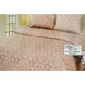 Комплект постельного белья 1,5спальный Поплин-жаккард Латте