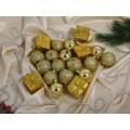 Набор елочных шаров 5см, 20 шт., AL-2641-1 *72