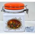 Банка для сыпучих  продуктов  Севилья 500мл квадратная  подарочная упаковка  L2520572 *36